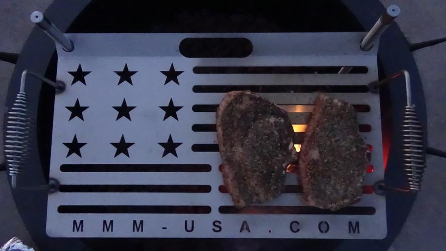 Ribeye Steaks on the MMM-GRILL
