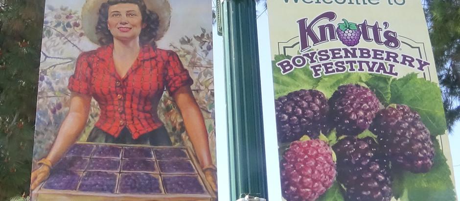Food Tasting at Knott's Boysenberry Festival
