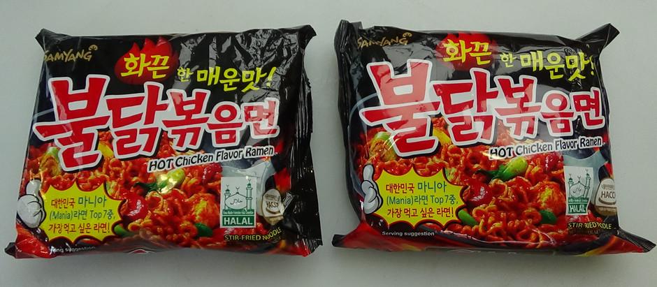 Extreme Spicy Ramen Challenge