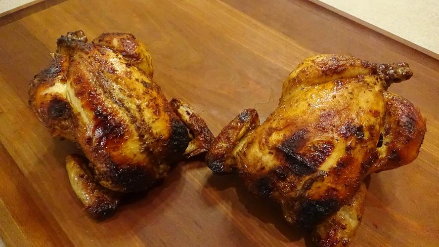 Rotisserie Cornish Game Hens