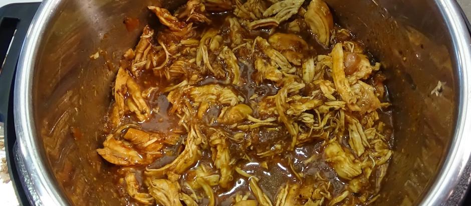 Salsa Verde Chicken in the Instant Pot