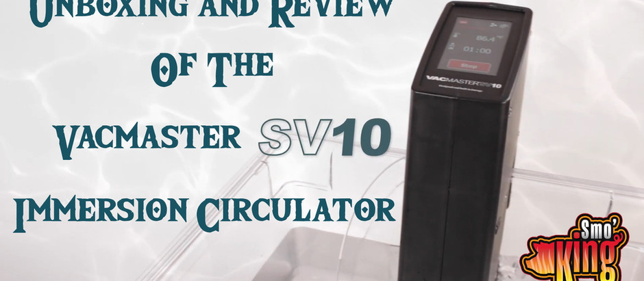 Unboxing & Review of the Vacmaster SV10 Sous Vide Circulator