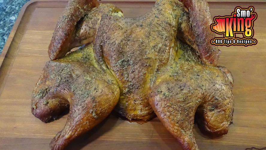Spatchcock Turkey on the Pit Barrel Cooker