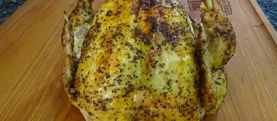 Whole Chicken in the Instant Pot Duo Crisp Air Fryer