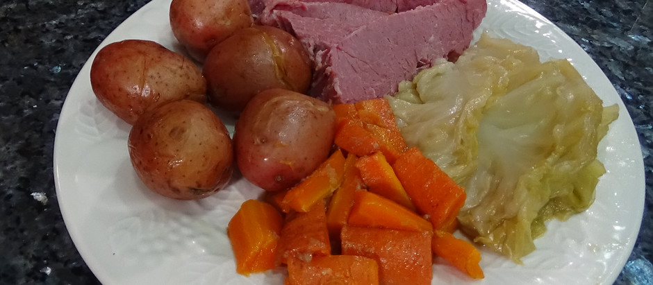 Corned Beef & Cabbage in the Instant Pot
