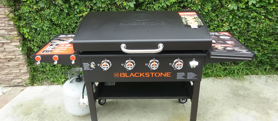 Blackstone Griddle Unboxing and Seasoning