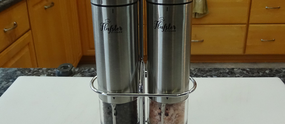 Unboxing and Review of the Flafster Salt & Pepper Grinder Set
