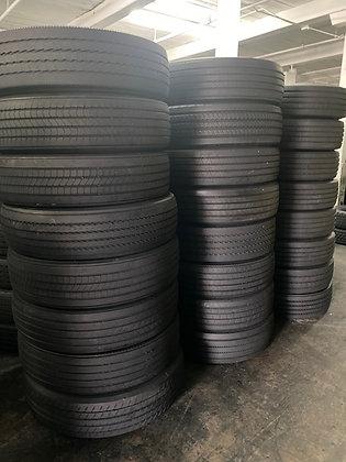 High Tread Virgin Used Trailer Tires