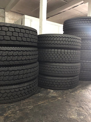 High Tread Virgin Used Drive Tires