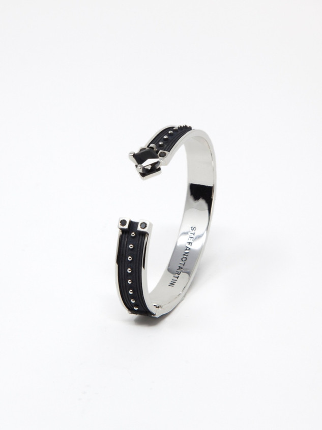 Open Black Bracelet € 700