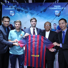 P&G Indonesia - FC Barcelona