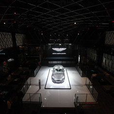 Aston Martin Launch