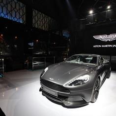 Aston Martin Launch