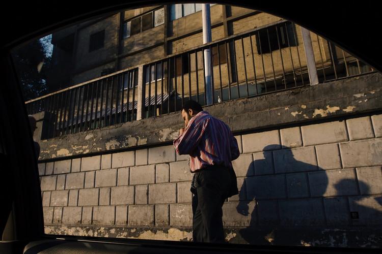 A Man Two Shadows