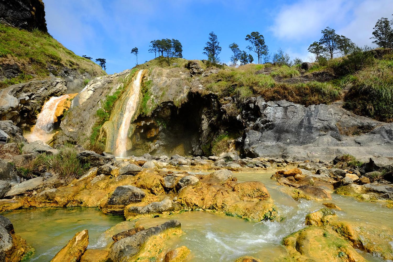 Sulfur Waterfall