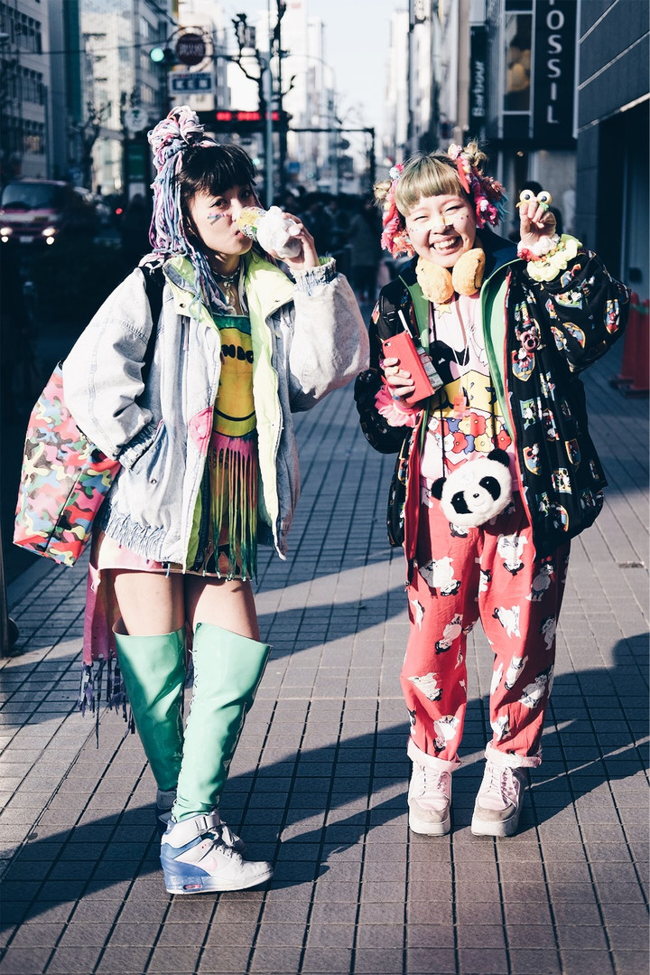 Colorful Girls
