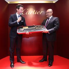 Cartier Store Launch