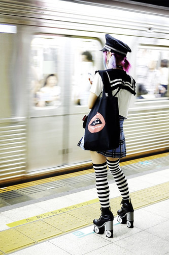 A Girl at the Station