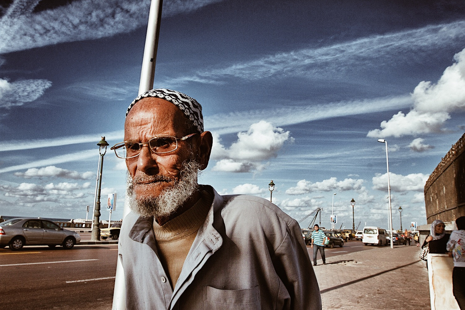 Alexandria Old Man