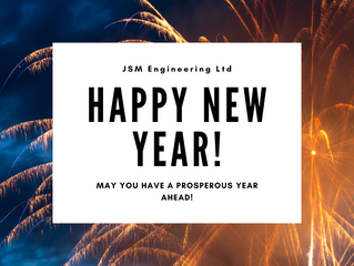 Happy New Year from JSM Engineering Ltd!
