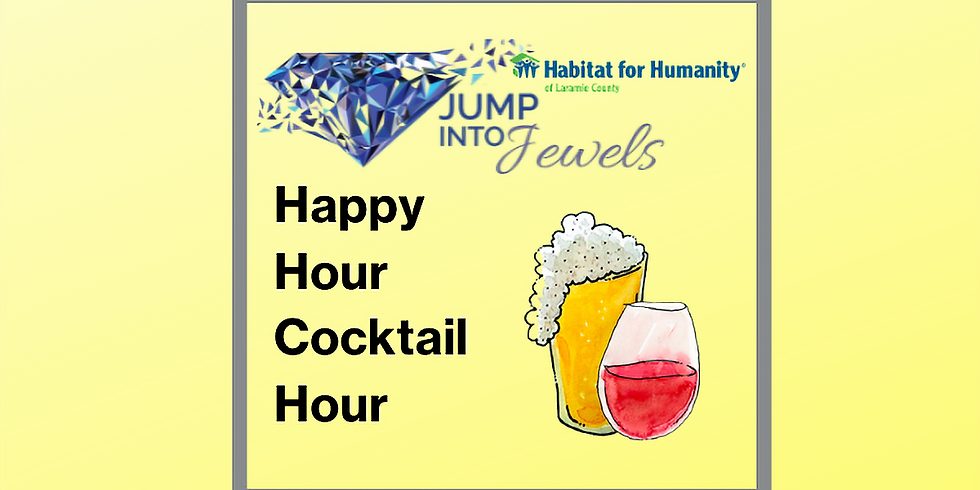 JUMP INTO JEWELS 2021-Happy Hour Cocktail Party