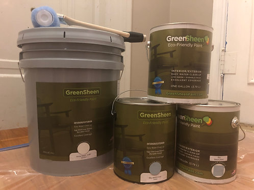 Green Sheen Paint 1 Gallon