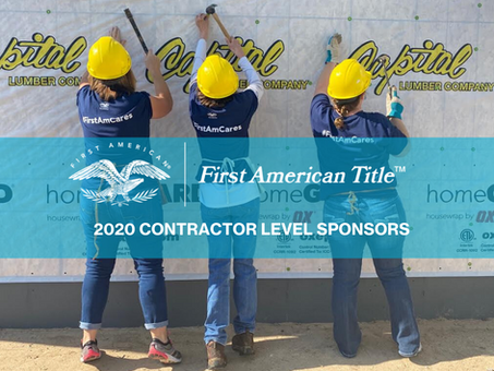 First American Title Supports Home Ownership