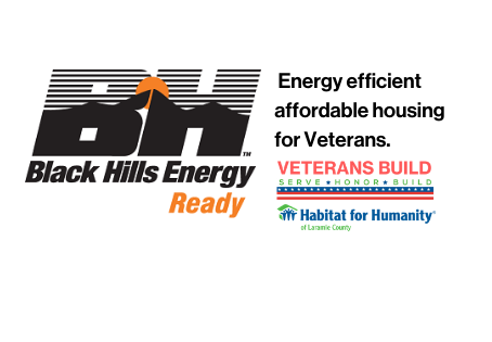 Black Hills Energy Sponsors Habitat's Veterans Build Project