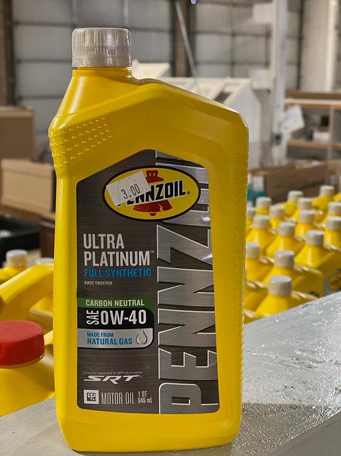 Pennzoil Ultra Platinum Full Synthetic