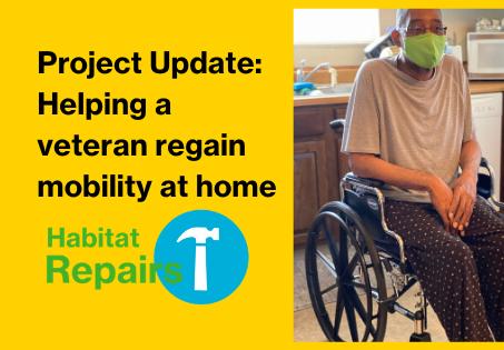 Habitat Repairs Project Update-