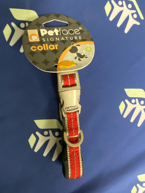 PetFace Collar-Small- RED