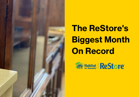 ReStore's First Month in New Location A Huge Success