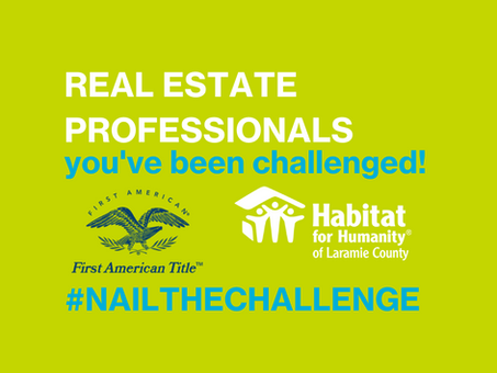 Real Estate Professionals- You've Been Challenged!