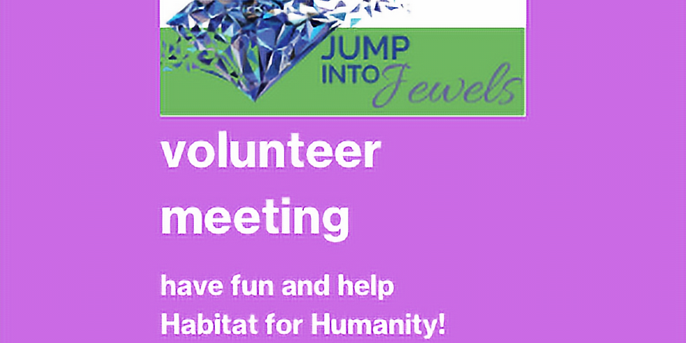 Jump Into Jewels Volunteer Information