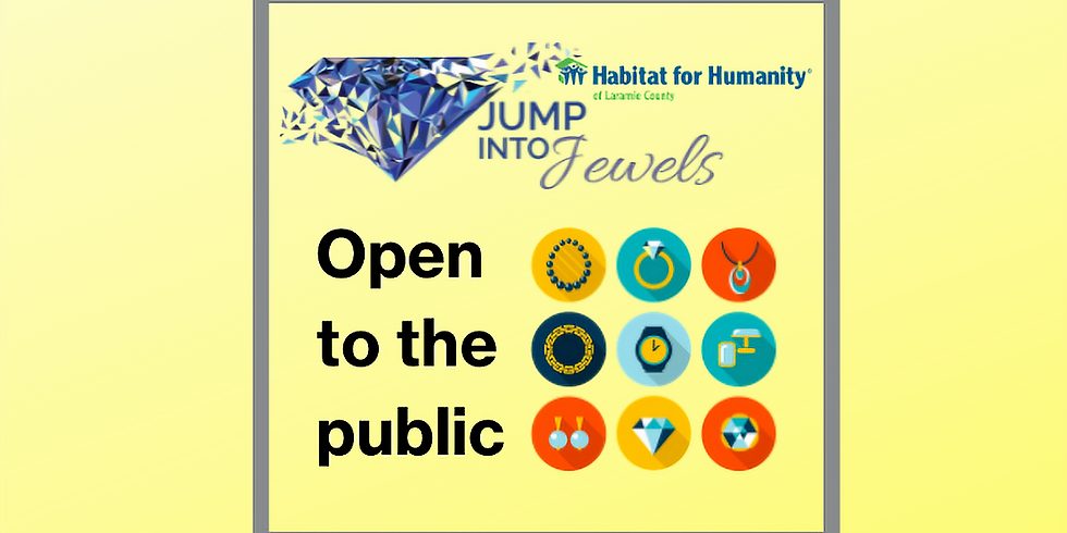 JUMP INTO JEWELS- Open to the Public