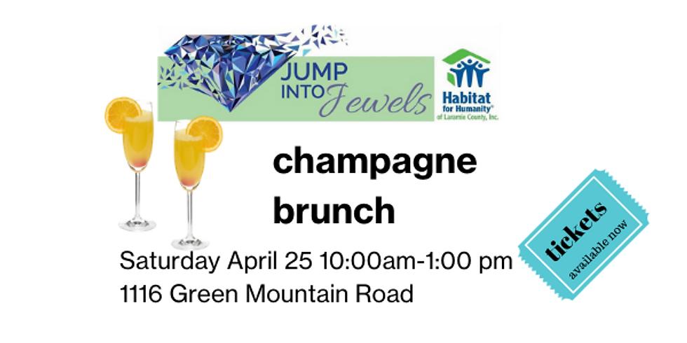 Jump into Jewels Champange Brunch