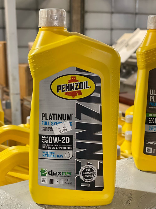 Pennzoil Platinum Full Synthetic