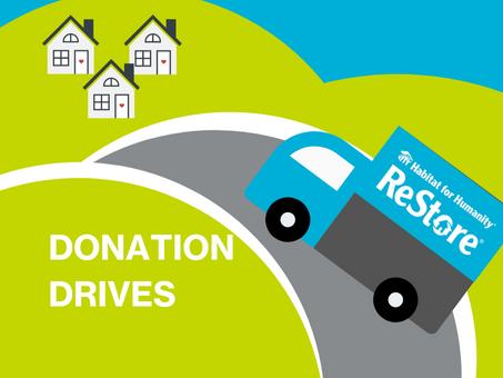 Donation Drives!