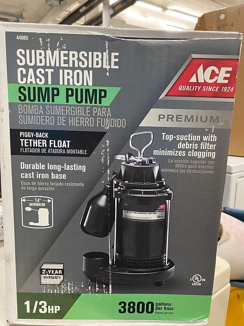 Submersible Cast Iron Sump Pump