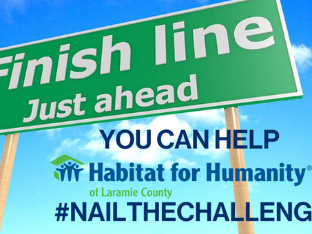 Finish Line in Sight! Can You Help?