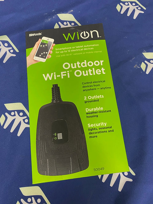 Wion Outdoor Wi-Fi Outlet