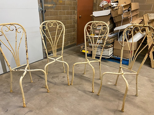 DIY Garden Chairs Set of 4