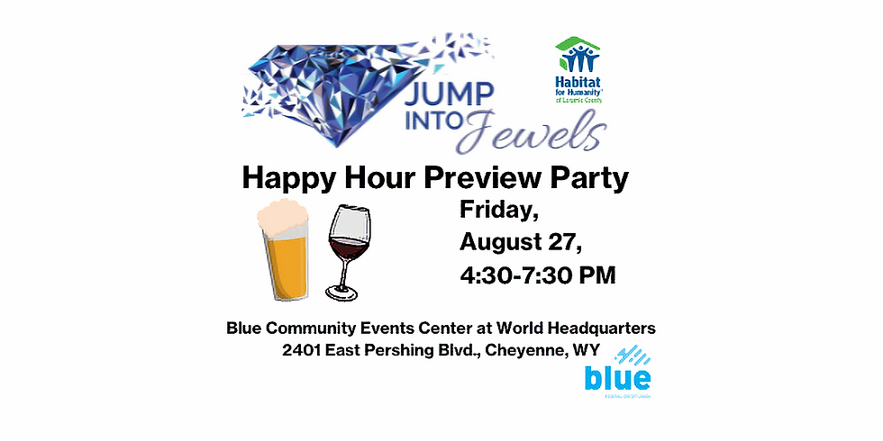 JUMP INTO JEWELS 2021-Happy Hour Preview Party