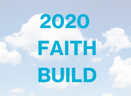 Habitat a Designated 2020 Faith Build