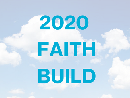 Habitat a Designated 2020 Faith Build