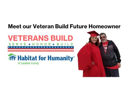 Meet our Veterans Build Future Homeowner!