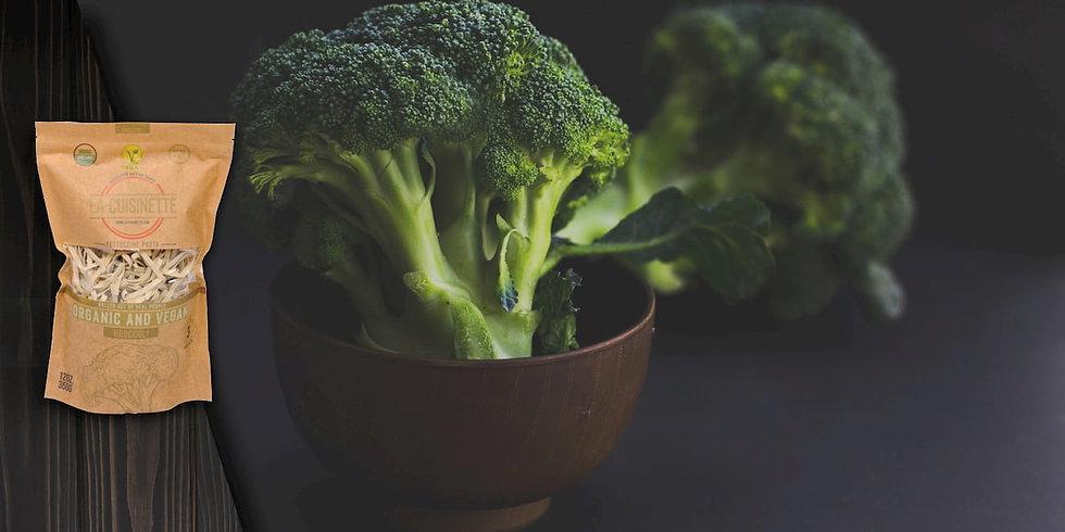 Organic Broccoli Pasta - (Vegan Food)