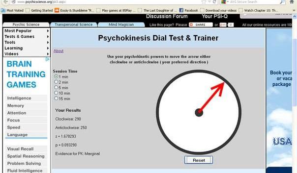 Telekinesis Test Results2