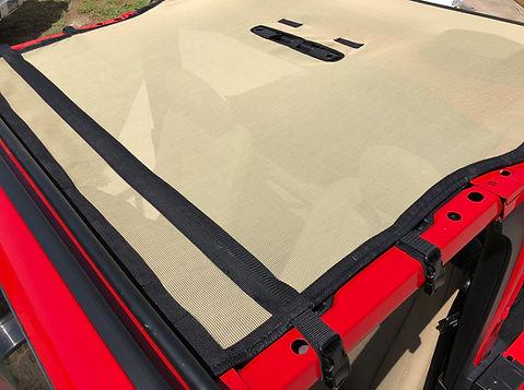 Jeep Wrangler jl 2 door sunshade