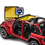 Jeep wrangler JL Sun Shade half Top